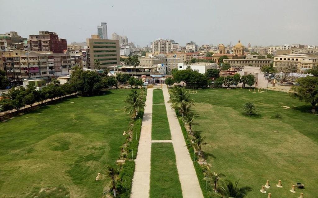 historic park in Karachi