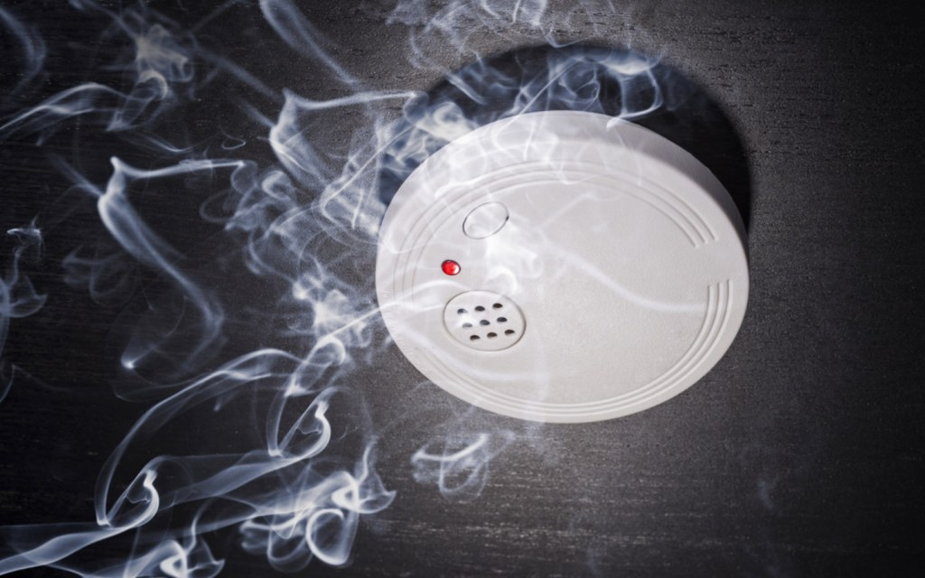 Keep your apartment safe from any fires with a smoke detector