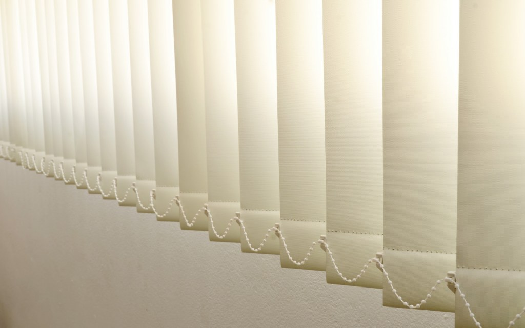 Vertical Blinds are perfect for picture windows