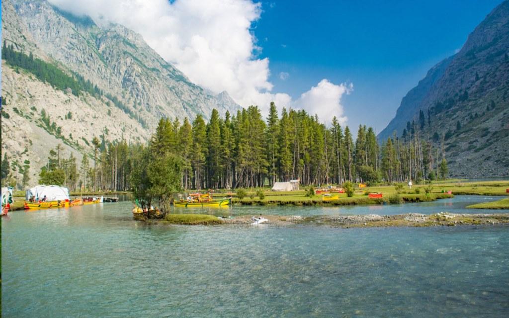 Enjoy fishing and boating at Mahodand Lake