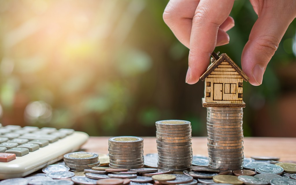 People can save towards their dream home with mortgages