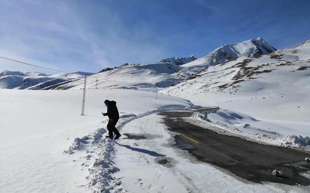 Ski resort in Pakistan