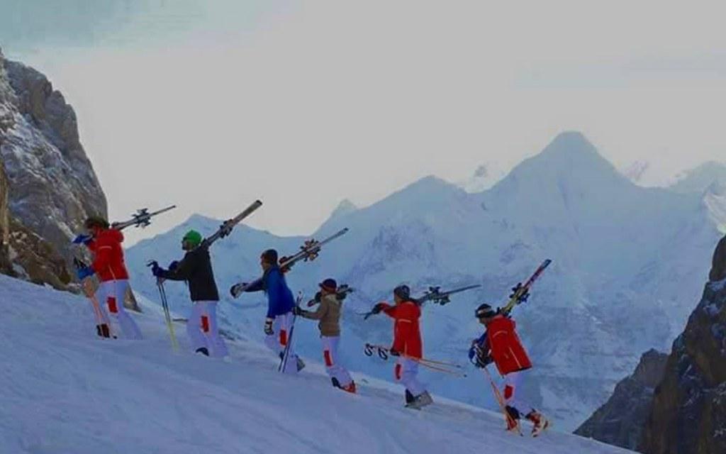 Popular ski spot in Pakistan