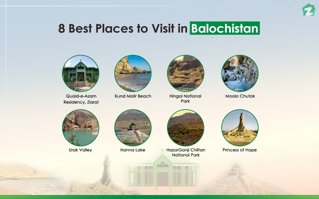 A top tourist destination in Balochistan