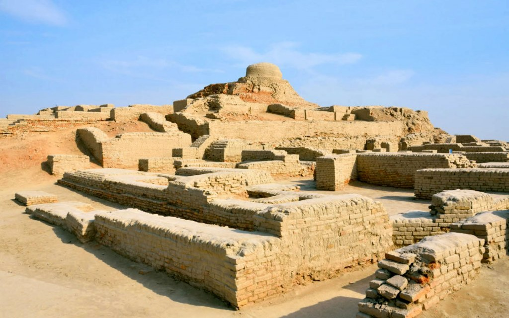 A large necropolis in Sindh