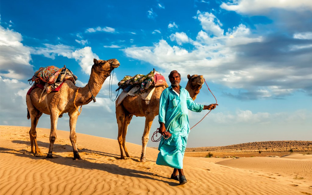 Nomads in deserts of pakistan