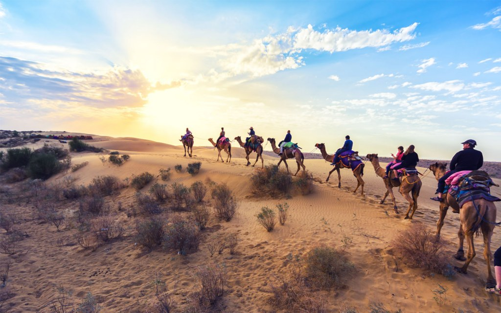 Thar desert of Pakistan