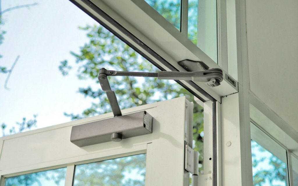 Using door closers helps to keep house warm