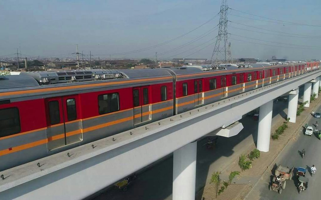 benefits of orange line train