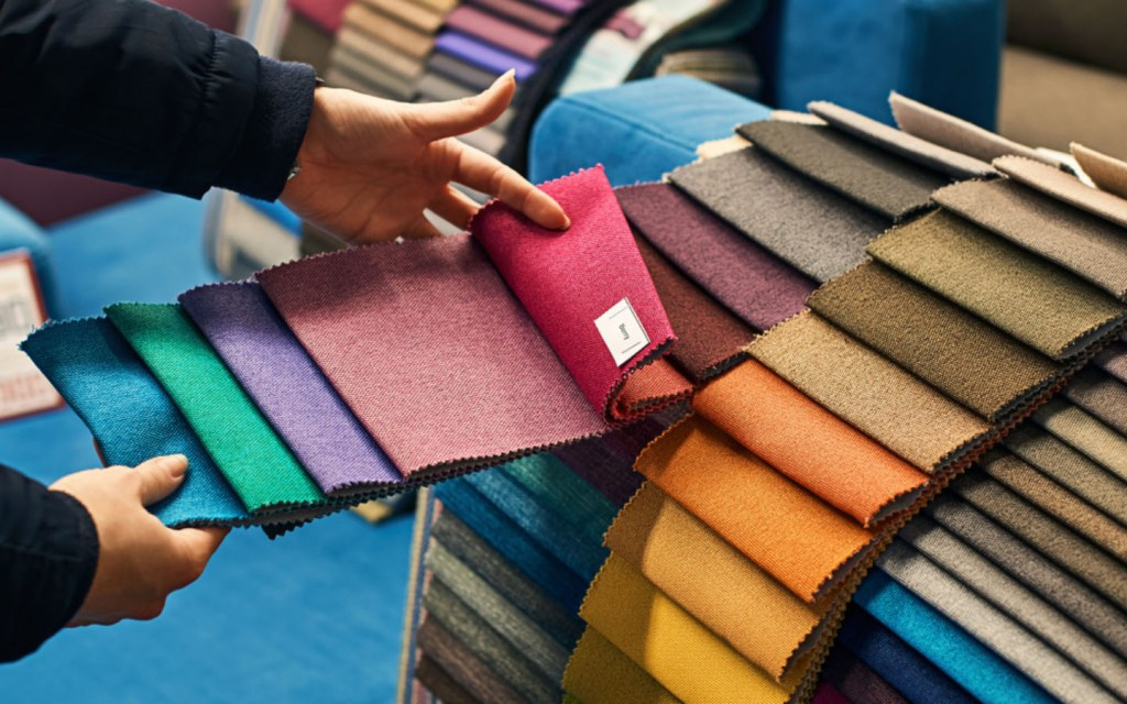 choose different fabrics for your upholstery