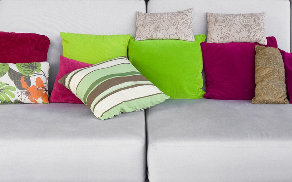 too many throw pillows is a decorating faux pas
