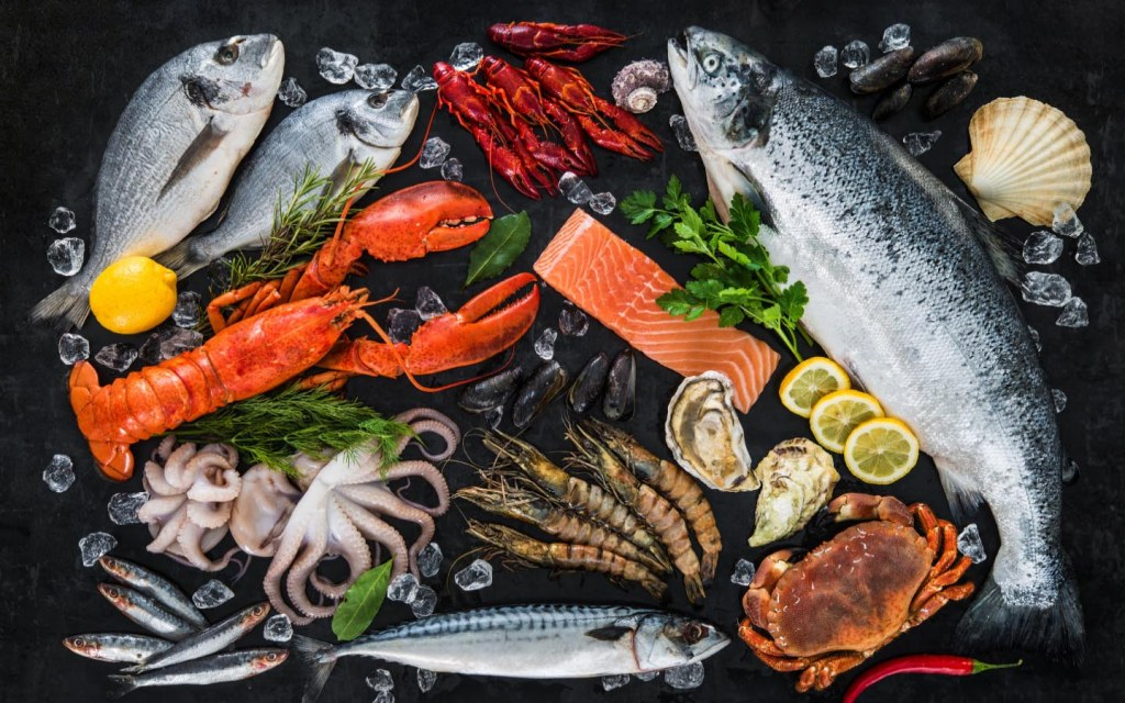One of the major exports of Pakistan is seafood