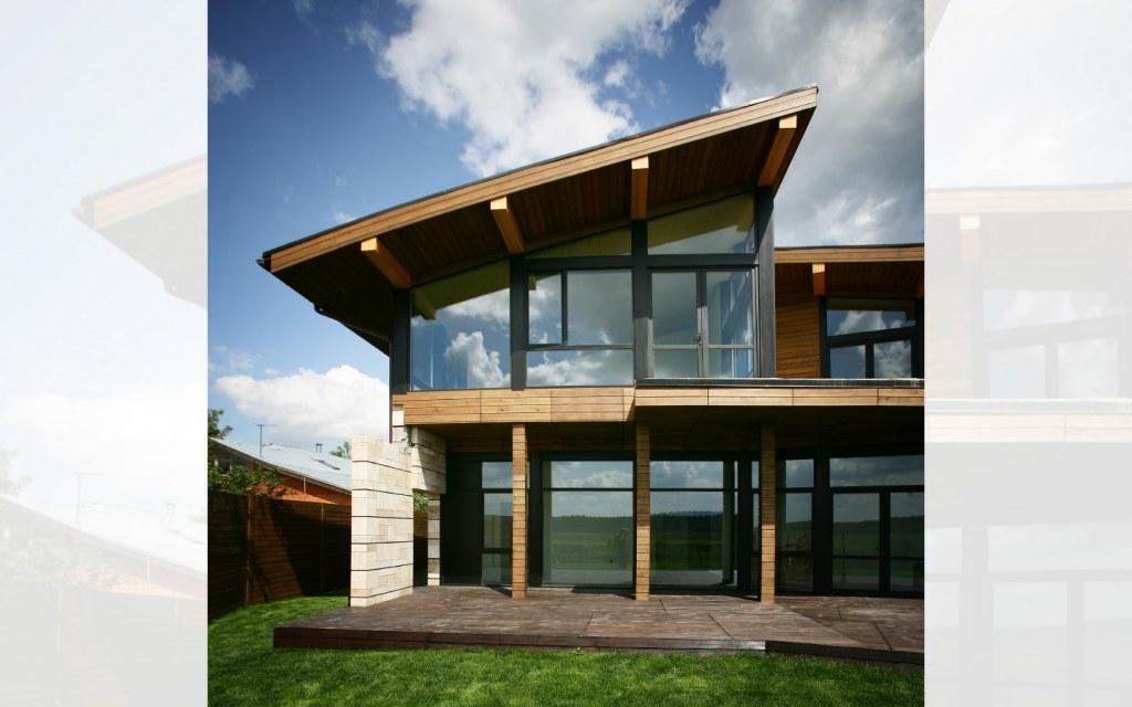 contemporary house construction design