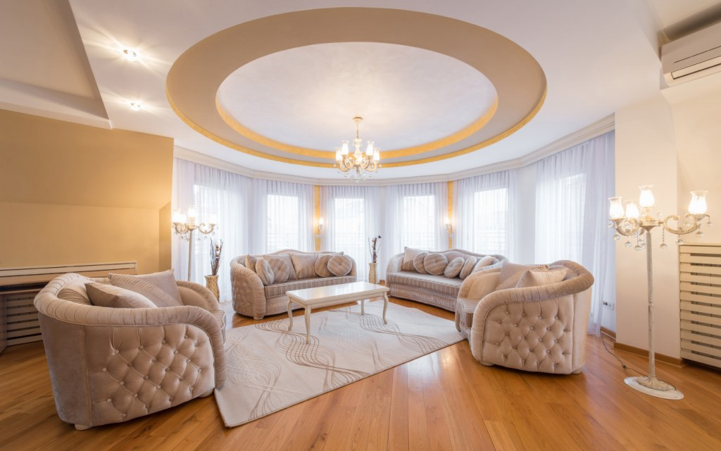 false ceilings add to the beauty of a room