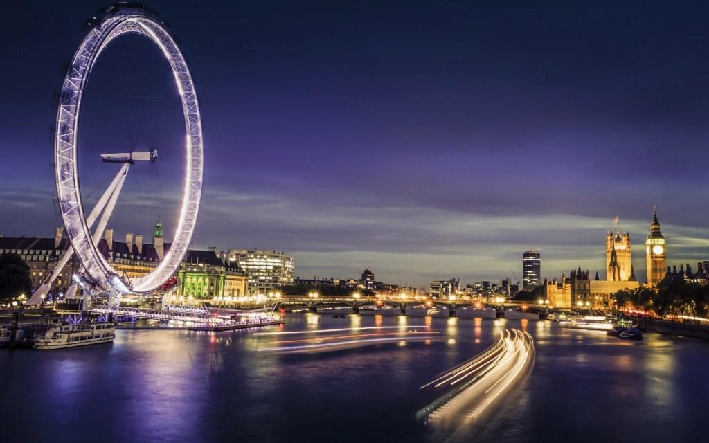 A view of London-Eye Ride