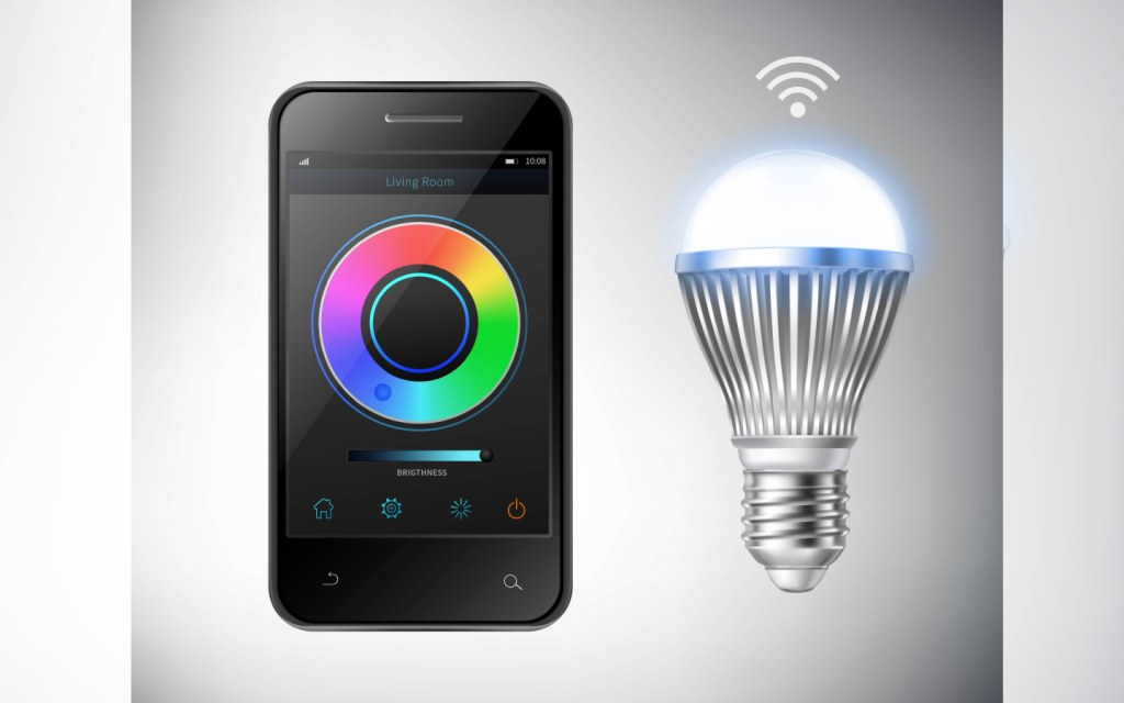 Set the mode at home with smart bulbs