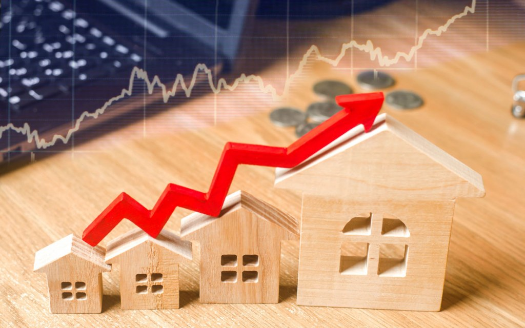 increase in real estate value