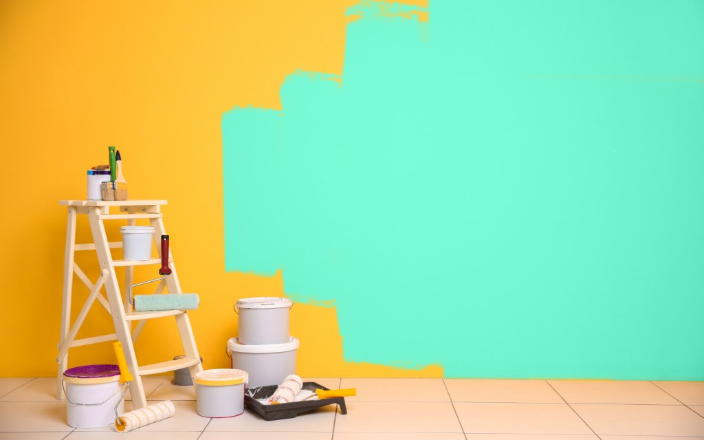 how to calculate paint quantity for walls