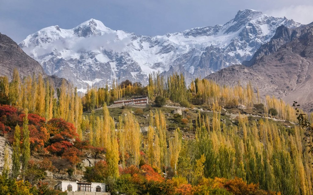 Hunza hill station in Pakistan
