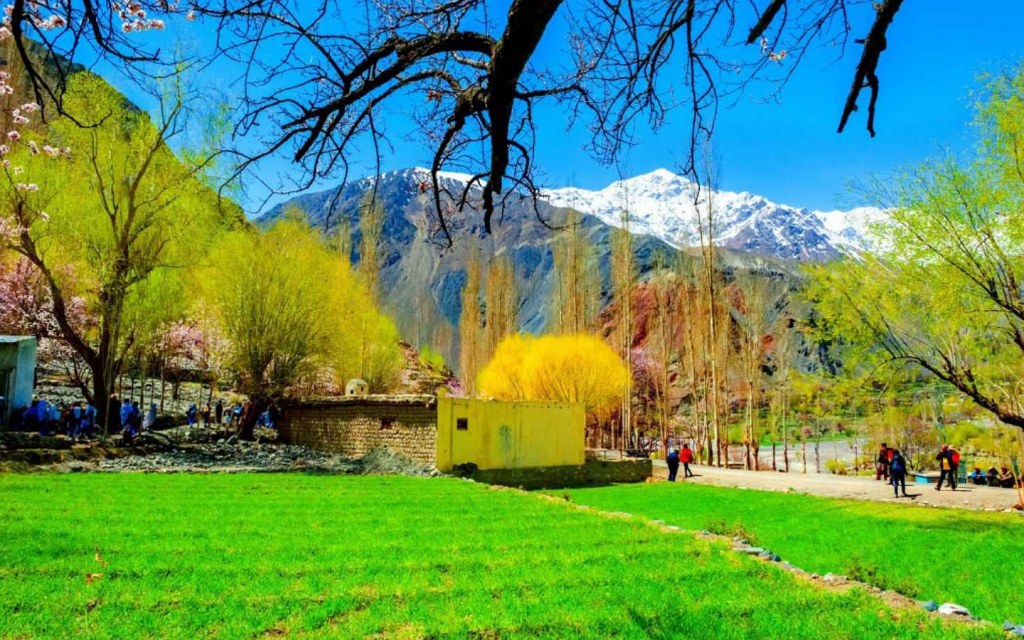 Untainted beautiful Shigar Valley in Gilgit