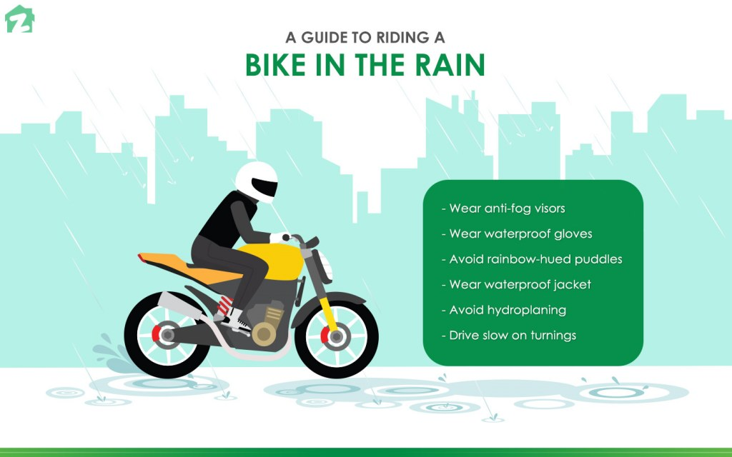 Safety Tips For Riding a Bike in the Rain   Zameen Blog