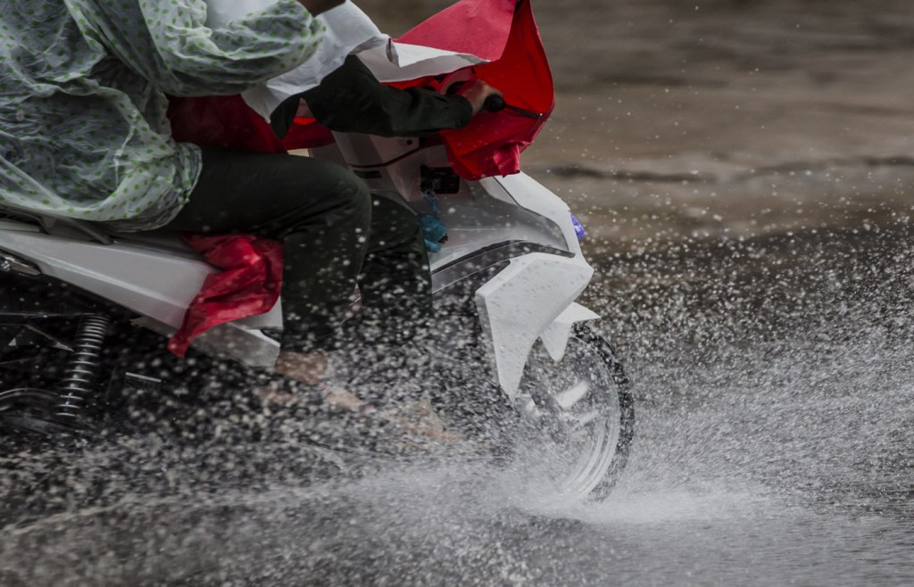 Your motorbike will skid if you dont take safety measures