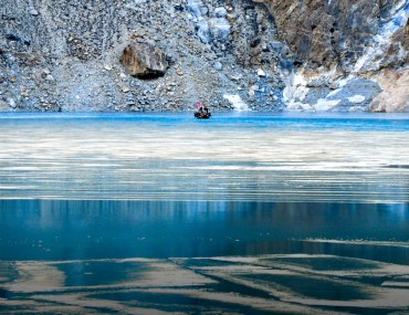 The most popular frozen lakes in Pakistan