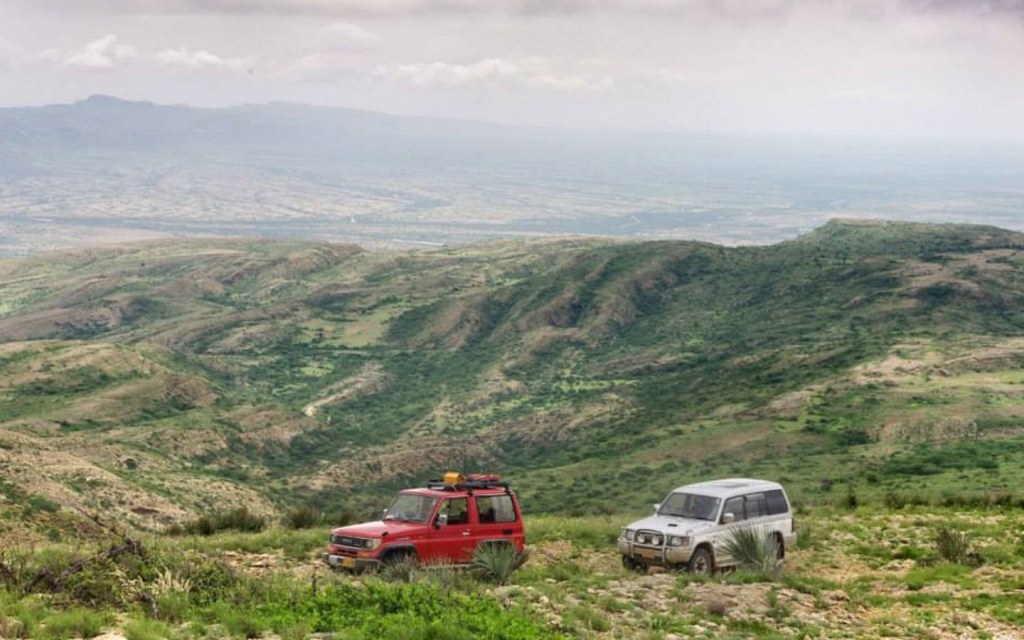 Reaching Kirthar usually requires a 4x4 jeep