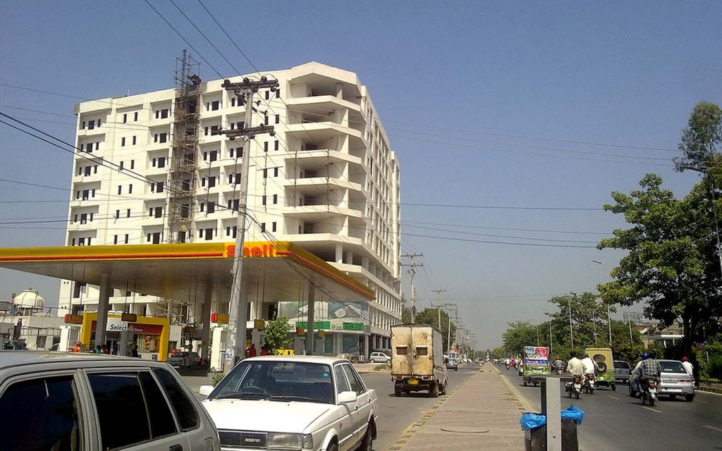 Johar Town is a very famous housing scheme in lahore