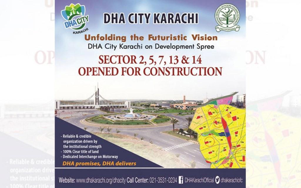 latest updates on DHA City, Karachi