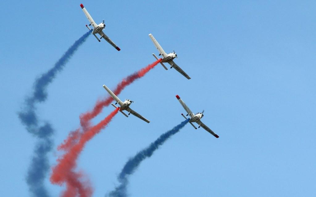Pakistan Air Force arranges air show in Karachi