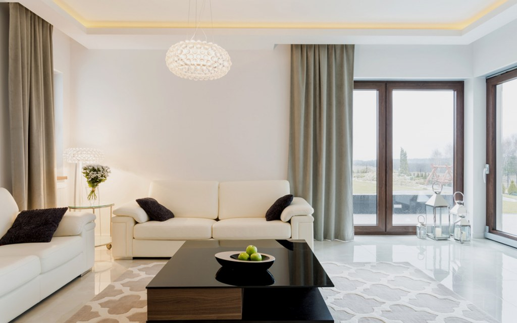 type of lighting for each room in your home