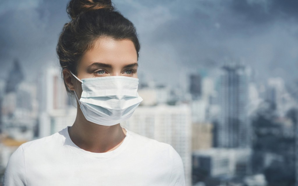 Wear protective mask to stay safe from gas poisoning