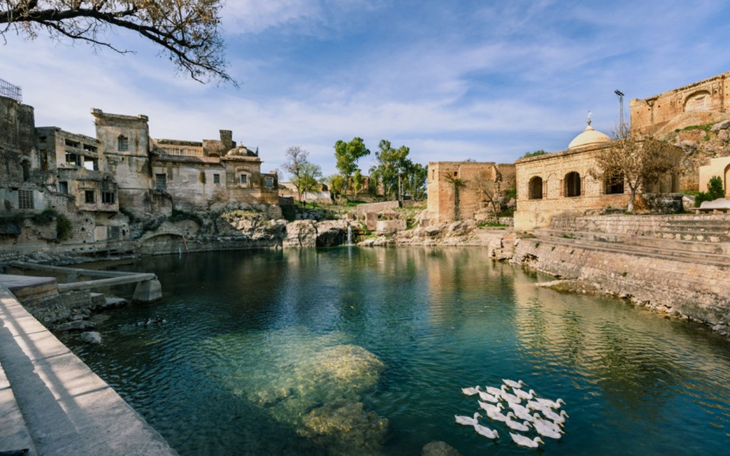 Katas Raj Temple is one of top tourist attractions in Punjab