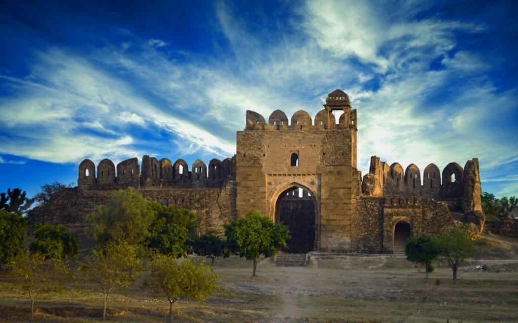 Rohtas Fort in Jhelum Punjab