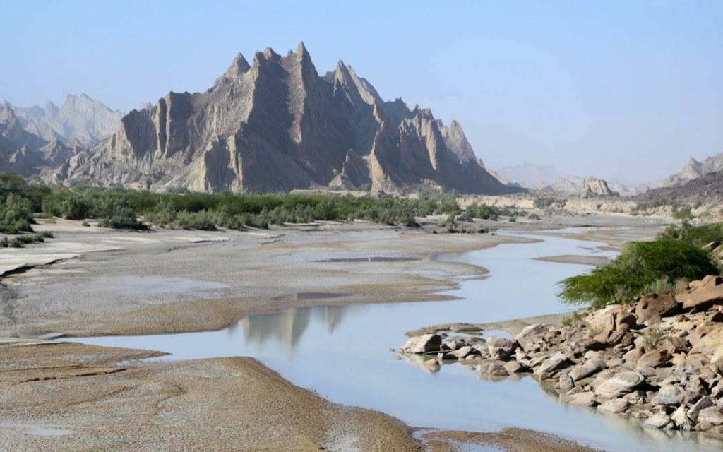 Major water sources in Balochistan