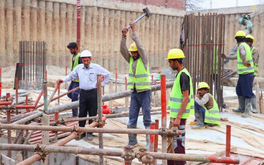 Dedicated construction efforts underway at Zameen Opal site