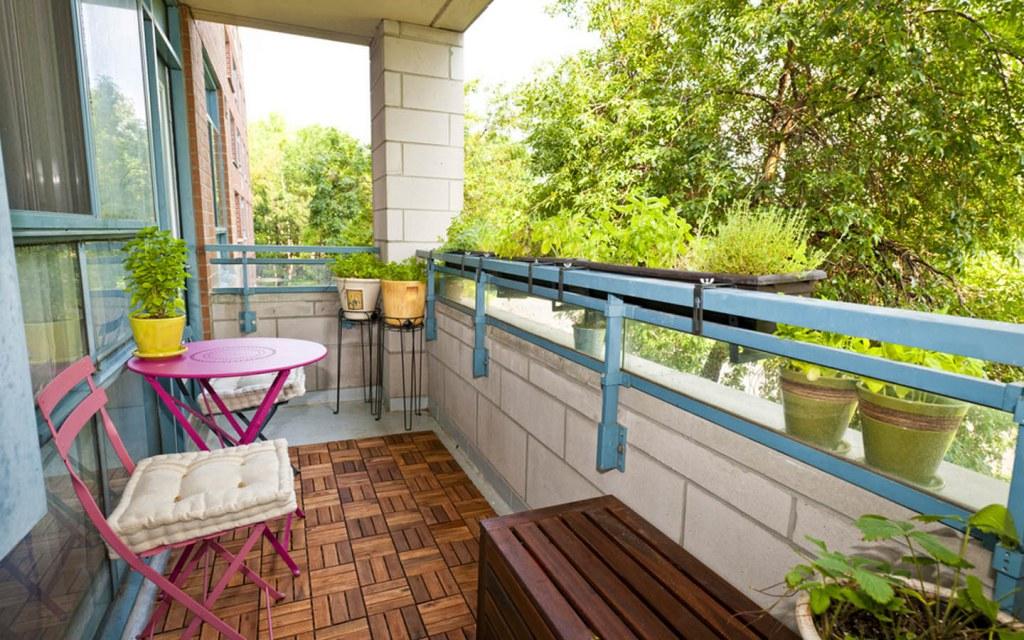 Take Your Balcony Decor Up a Notch