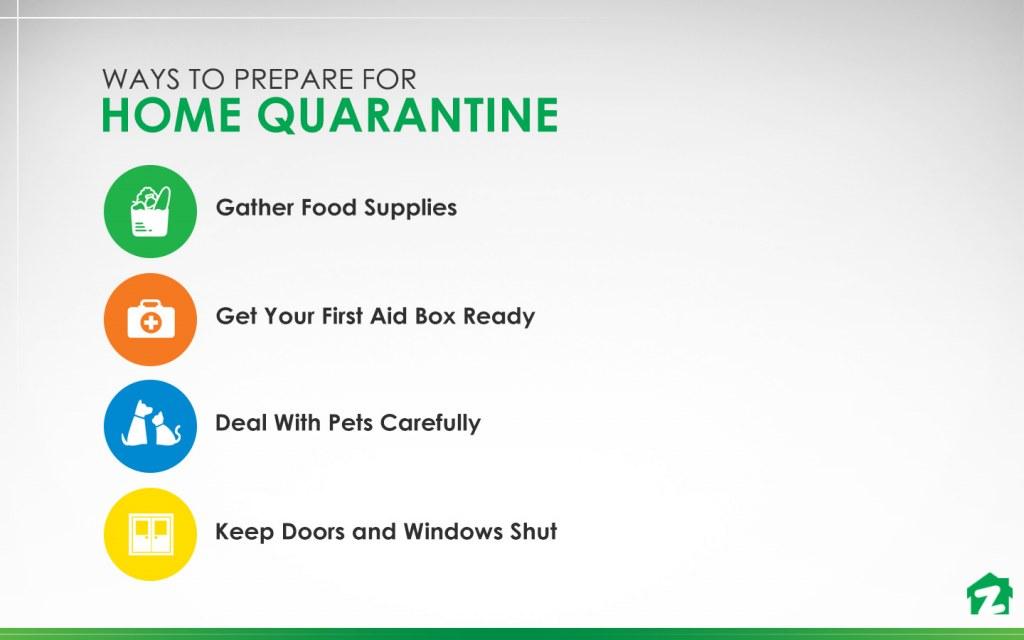 Ways to Prepare for Home Quarantine