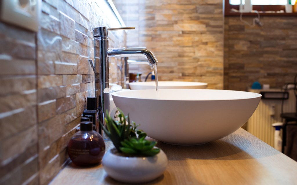 install new sink to make your bathroom look brand new