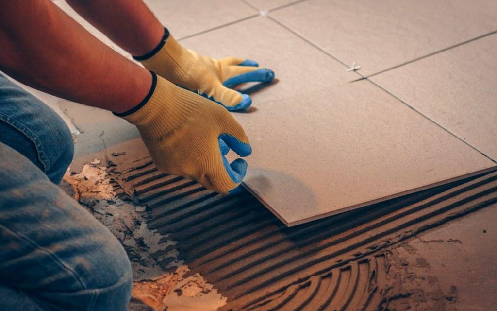 How to redo your bathroom floor