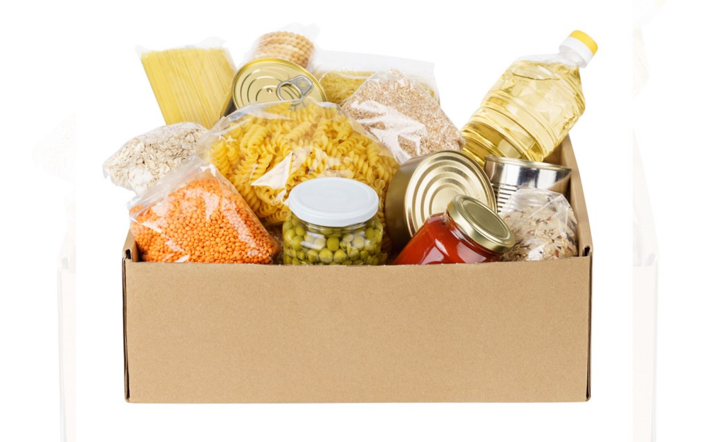 stock up your home with necessary food items