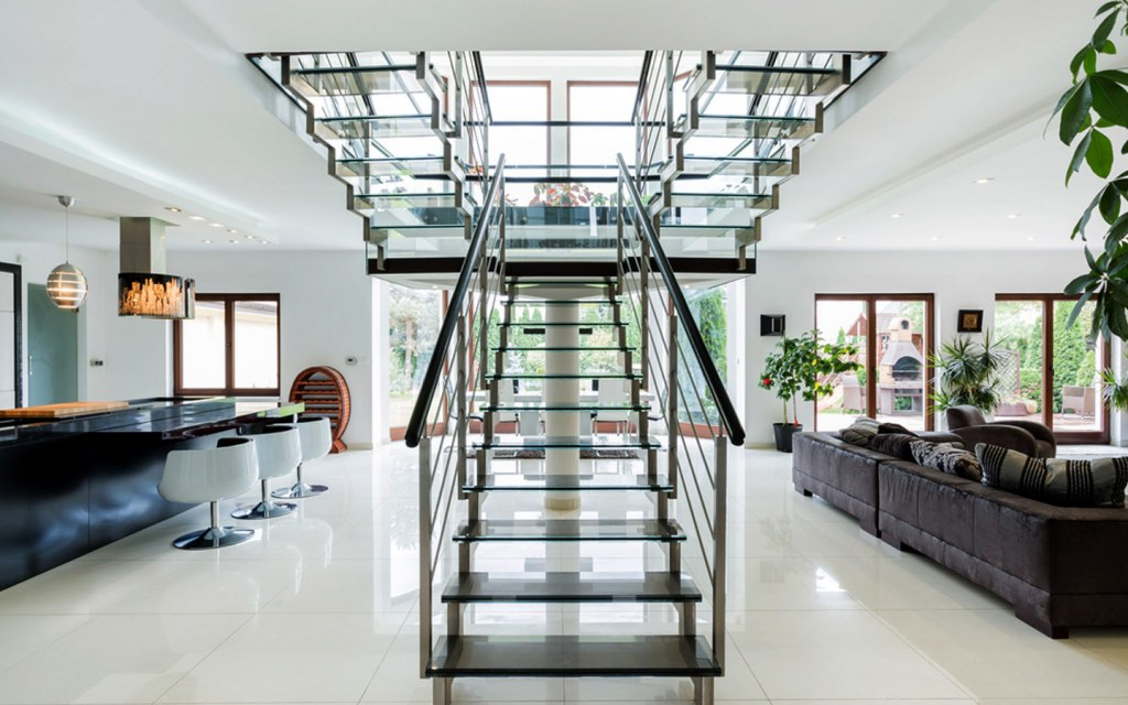 Split Staircase is the grandest style of stairs