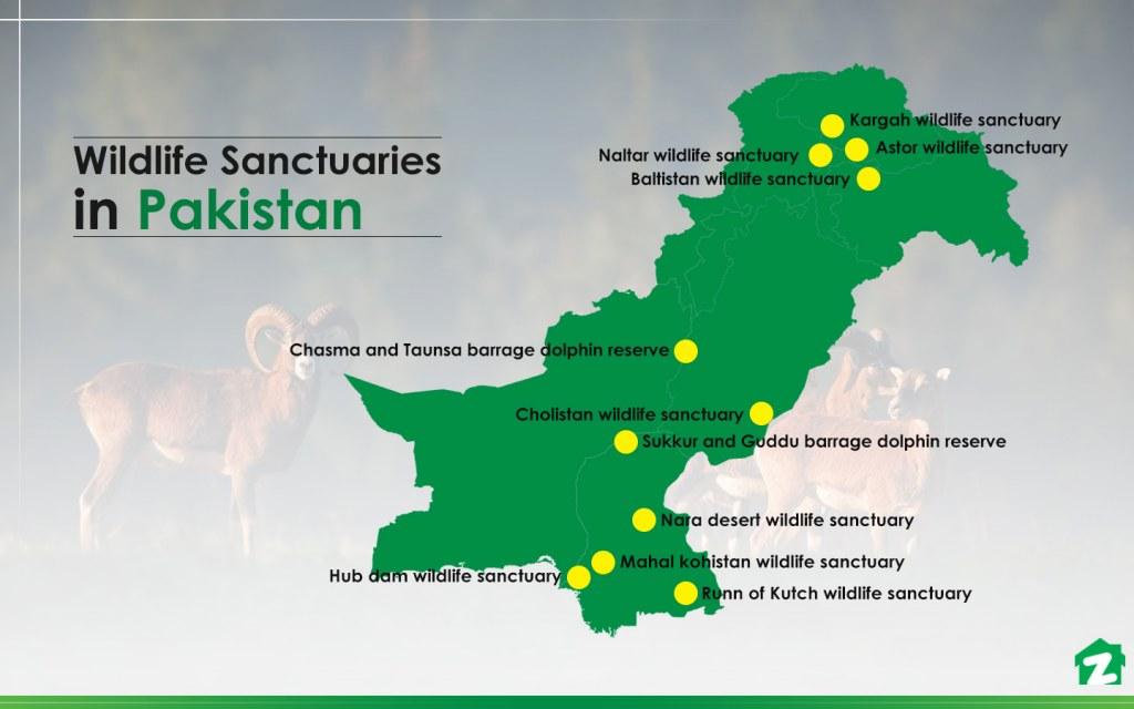 Most important wildlife sanctuaries in Pakistan