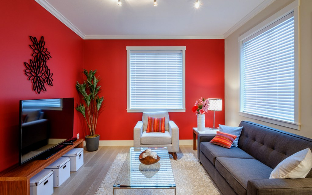 Play With Colours in your tv room design