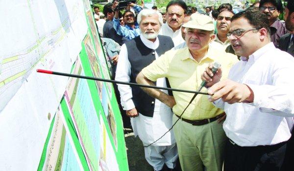 Shahbaz Sharif inaugurated Walton Flyover