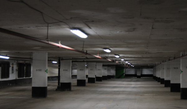 Parking plazas in the capital