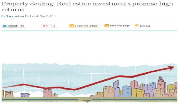 Pakistan real estate - an investment haven