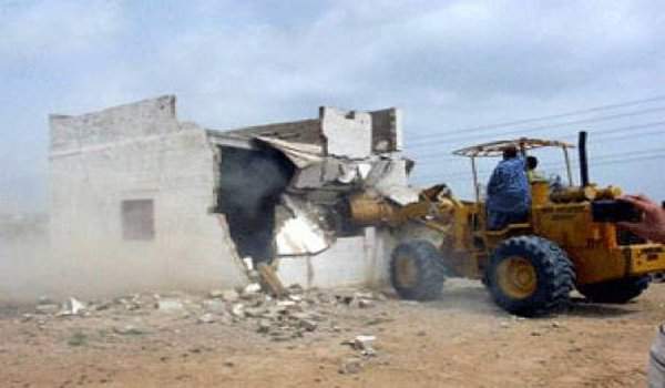 anti-encroachment drive launched by the KMC