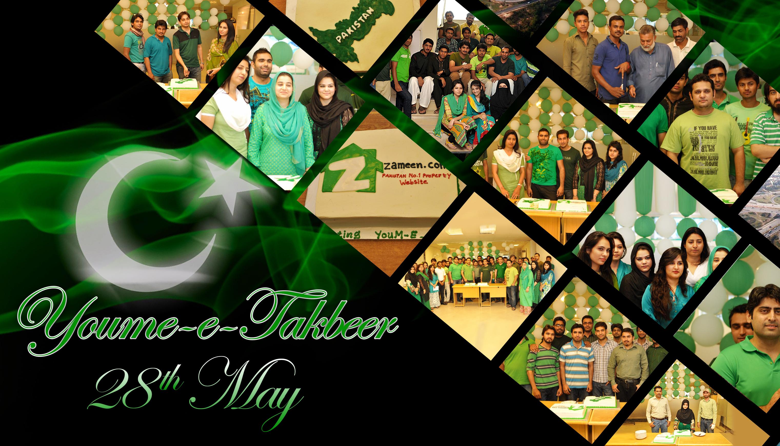 Zameen.com celebrates youm-e-Takbeer